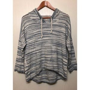 Lucky Brand Striped Pullover Sweater/Hoodie